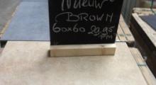 Vloertegel new brown 60x60cm